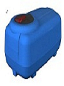 Global 300L Cartage Low Tank
