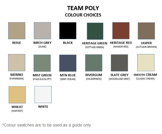 Team Poly Colours