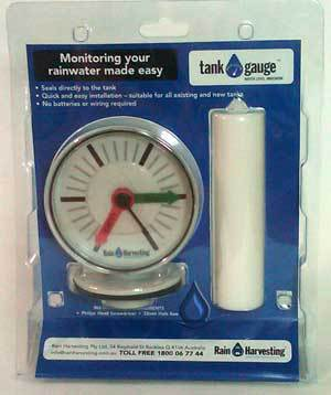 Tank Water Level Gauge – Rain Harvesting