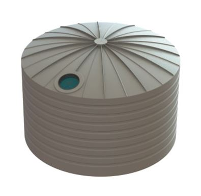 Bushmans 22500 Litre round poly water tank