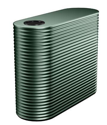 Kingspan 6000L Aquaplate metal slimline water tank B