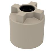 Choice Plastics 250 Litre round poly water tank