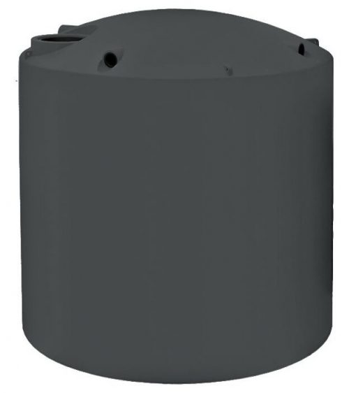 Kingston Water Tanks Polychoice 10000 Litre round poly water tank